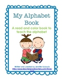 Alphabet Book Emergent Reader {Color and Read}