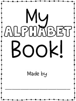 Alphabet Book *FREEBIE*