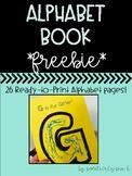 Alphabet Book *FREEBIE*