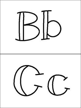 Alphabet Book FREEBIE