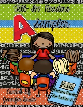 Alphabet Book ~Fill in Reader~ My Aa Book FREE SAMPLER!