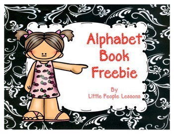 Alphabet Book Freebie