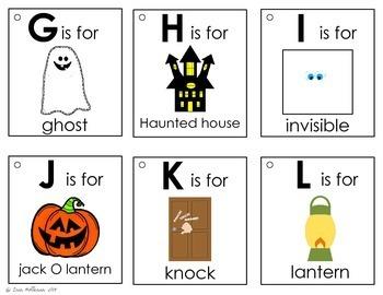 Alphabet Book - Halloween