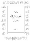 Alphabet Book- Handwriting/ Letter Sound Practice