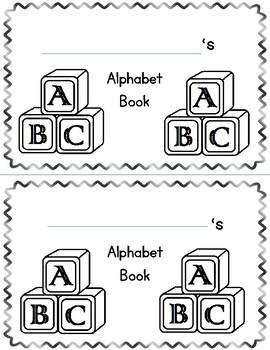 Alphabet Book/Handwriting book
