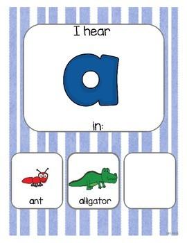 Alphabet Book - Interactive