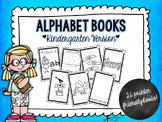 Alphabet Books for Kindergarten
