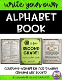 Alphabet Book Kit:  End of Year or Content Area Review