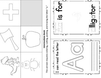 Alphabet Book - Letter A