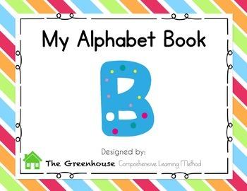 Alphabet Book - Letter B