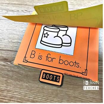 Alphabet Book: Letter B Flip Book