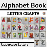 Alphabet Book Letter Crafts for Preschool (Uppercase Letters)