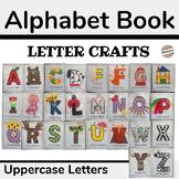 Alphabet Letter Crafts Book for Preschool (Uppercase Letters)