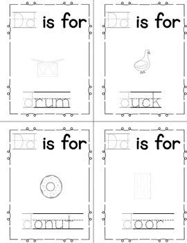 Alphabet Book - Letter D