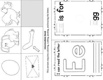 Alphabet Book – Letter E