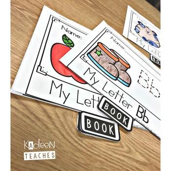 Alphabet Book: Letter F Flip Book