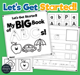 Alphabet Book • Letter Formation and Recognition Practice