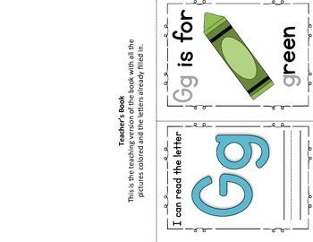 Alphabet Book- Letter G