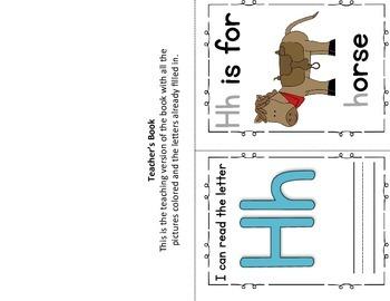 Alphabet Book- Letter H