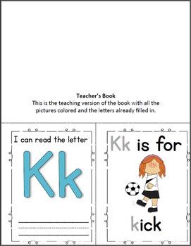 Alphabet Book - Letter K