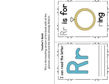 Alphabet Book- Letter R