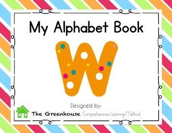 Alphabet Book- Letter W