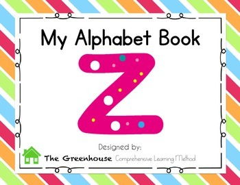Alphabet Book- Letter Z