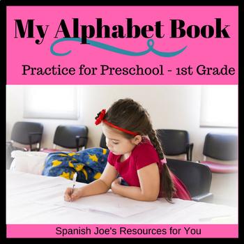 Alphabet Book Practice Pages