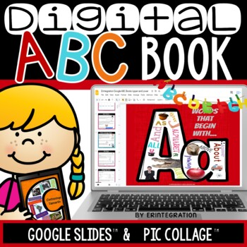 Alphabet Books and Digital Posters on the iPad