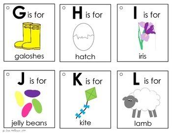 Alphabet Book - Spring