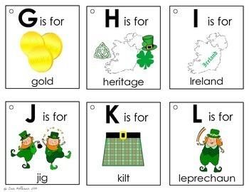 Alphabet Book - St. Patrick's Day