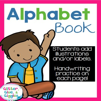 Alphabet Book {Student Created}