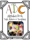 {Free&Editable} ABC Alphabet Book Task Card, Learning Targ