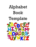 Alphabet Book Template