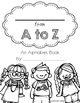Alphabet Book Template for All Subjects!