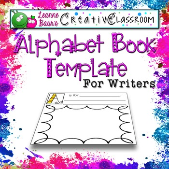 Alphabet Book Template for Writers