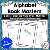 Alphabet Book Book Templates
