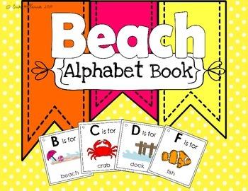 Alphabet Book - The Beach