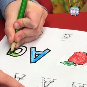 Alphabet Book Kit: Personalize with line art options for each letter sound!