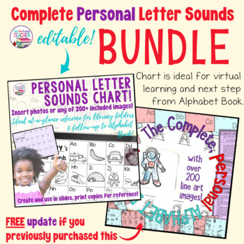 Letter Learning Fun with the complete Alphabet Book Kit!