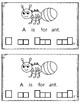 Alphabet Book: The Letter Aa (with shape boxed writing)