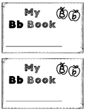 Alphabet Book: The Letter Bb (with shape boxed writing)