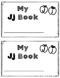 Alphabet Book: The Letter Jj (with shape boxed writing)