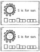 Alphabet Book: The Letter Ss (with shape boxed writing)