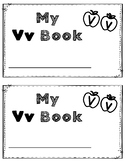 Alphabet Book: The Letter Vv (with shape boxed writing)