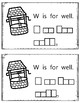 Alphabet Book: The Letter Ww (with shape boxed writing)