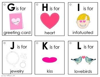 Alphabet Book - Valentine's Day