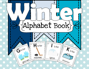 Alphabet Book - Winter