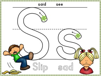 Alphabet Play Dough Mats: Correct Formation and Beginning Sounds