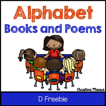Alphabet Book and Poem {The Letter D} FREEBIE